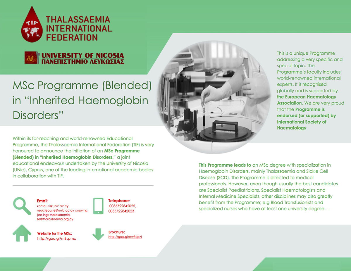 TIF Brochure for MSc